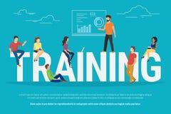 De illustratie van het opleidingsconcept Stock Fotografie