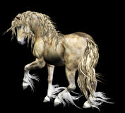 De illustratie van het paard Stock Foto's