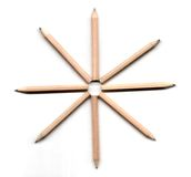 De illustratie van het potlood Stock Afbeelding