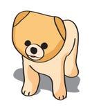 De illustratie van het puppy stock illustratie