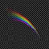 De illustratie van het regenboogpictogram Royalty-vrije Stock Afbeeldingen