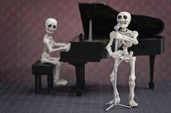 De illustratie van het skelet Band Royalty-vrije Stock Afbeeldingen