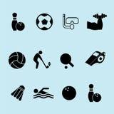 de illustratie van het sportpictogram stock illustratie