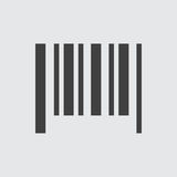 De illustratie van het streepjescodepictogram vector illustratie