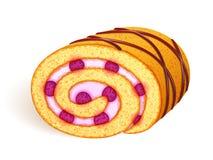 De illustratie van het Zwitsers-broodje Royalty-vrije Stock Foto