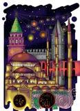 De Illustratie van Istanboel stock illustratie