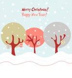De illustratie van Kerstmis Stock Afbeeldingen