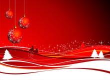 De illustratie van Kerstmis Stock Fotografie