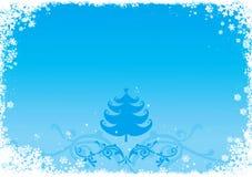 De illustratie van Kerstmis/van het Nieuwjaar vector illustratie