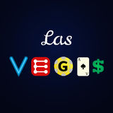De illustratie van Las Vegas Stock Foto's