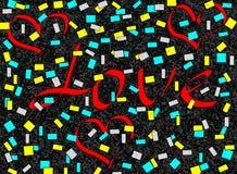 De illustratie van de liefdebrief Stock Fotografie