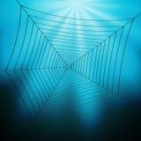 De Illustratie van Spiderweb Royalty-vrije Stock Foto's