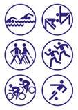 De illustratie van sporten Royalty-vrije Stock Afbeeldingen