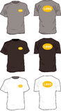 De illustratie van t-shirts Royalty-vrije Stock Fotografie