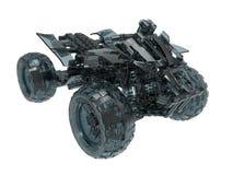 De illustratie van Teal Glass ATV vector illustratie