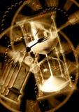 De Illustratie van de tijdreis Digitale composition/3D-Teruggeeft Stock Fotografie