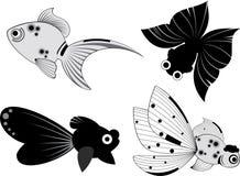 De illustratie van vissen Stock Foto
