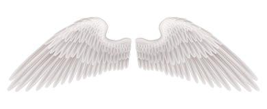 De illustratie van vleugels stock illustratie