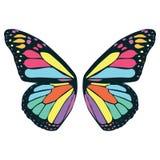 De illustratie van de vlindervleugel door crafteroks stock illustratie