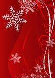 De illustratieachtergrond van Kerstmis/van het Nieuwjaar stock illustratie