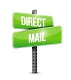 de illustratieontwerp van het direct mailteken royalty-vrije illustratie