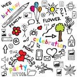 De illustratieontwerp van het pictogram Stock Afbeeldingen