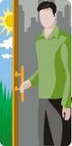 De illustratiereeks van de ecologie royalty-vrije illustratie