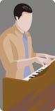 De illustratiereeks van de musicus Royalty-vrije Stock Foto's