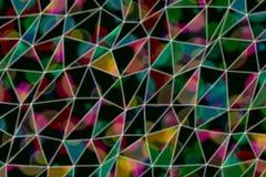 De illustraties van de achtergrond driehoeksstrook samenvatting, patroon van geometrische textuur Oppervlakte, kunst, stijl & dec stock foto's