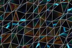 De illustraties van de achtergrond driehoeksstrook samenvatting, patroon van geometrische textuur Slordig, concept, herhaal & opp stock foto