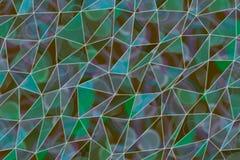 De illustraties van de achtergrond driehoeksstrook samenvatting, patroon van geometrische textuur Slordig, vorm, oppervlakte & ma stock foto