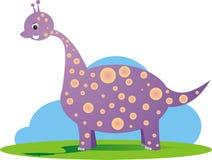 De illustraties van de babydinosaurus Stock Foto's