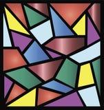 De illustraties van het gebrandschilderd glas Royalty-vrije Stock Afbeelding