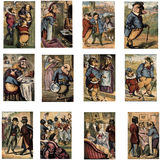 De Illustraties van het sprookje royalty-vrije illustratie