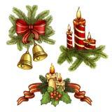 De illustraties van Kerstmis vector illustratie
