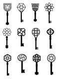 De illustraties van sleutels Royalty-vrije Stock Foto