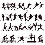 De illustraties van de sporteninzameling stock illustratie