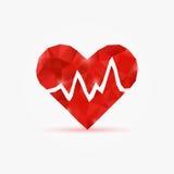 De impuls van de hartmarkering vector illustratie