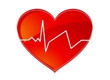 De impuls van het hart Royalty-vrije Stock Afbeeldingen
