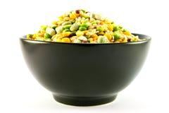 De Impulsen van de soep in een Kom Royalty-vrije Stock Afbeelding