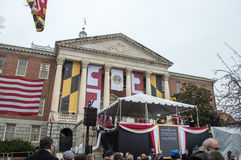 De Inauguratie van de Gouverneur van Maryland - 21 Januari, 2015 Stock Foto's
