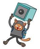 De inbreker van de kat Royalty-vrije Stock Fotografie