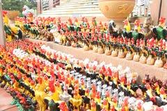 De inbreuk van Brahmaheiligdommen Royalty-vrije Stock Foto