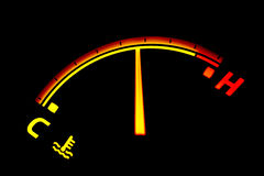 De indicator van de temperatuur Royalty-vrije Stock Foto's