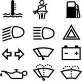 De indicatoren van de auto Stock Afbeeldingen