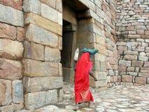 De Indische Arbeider van de boer royalty-vrije stock afbeelding