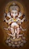 De Indische God Ganesha maakte van klei royalty-vrije stock afbeelding