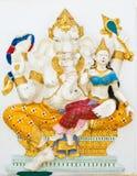 De Indische of Hindoese God van ganesha noemde Shakti Ganapati Royalty-vrije Stock Afbeeldingen