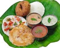 De Indische maaltijd van het zuiden Royalty-vrije Stock Foto