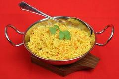 De Indische Rijst van het Pilau van de Citroen Stock Afbeelding
